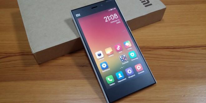 Xiaomi Mi3 teszt