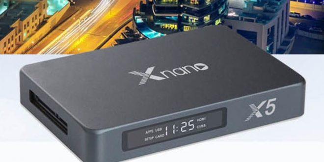 Xnano X5 TV-okosító fémházzal és SATA 3.0 foglalattal