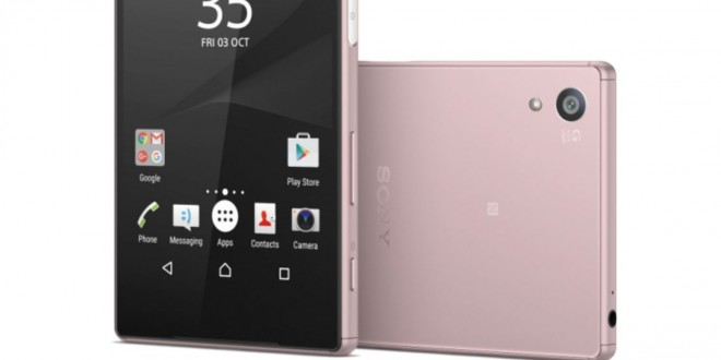 Rózsaszín Sony Xperia Z5 debütált